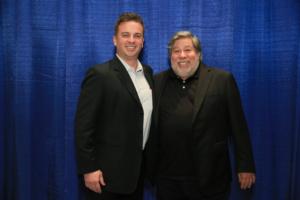 Arturo Garcia and Steve Wozniak